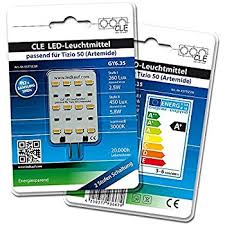 Tizio Lamp Led Bulb by Replacement Bulb For Artemide Tizio 50 12 V Gy6 35 Capsule 3000 K
