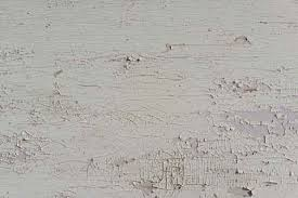 Chipped White Oil Paint Surface