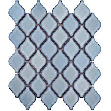 Home Depot Merola Lantern Ceramic Tile by Merola Tile Arabesque Orion 9 7 8 In X 11 1 8 In X 6 Mm