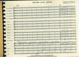 better days ahead by composer performer jazz ensemble big