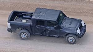 100 Truck Jeep Wrangler Pickup Spy Shots From JLWrangler