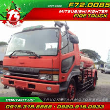 100 Fire Truck Red Mitsubishi Fighter 20Footer For Sale On