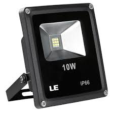 10 watt led flood light daylight white waterproof pack of 3 units