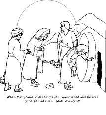 Jesus Death Coloring Sheets