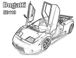 Coloring Pages Of Bugatti