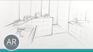 bäder in ein punkt perspektive zeichnen in zentralperspektive zeichnen zeichenkurse für bad planer