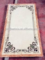 High Polished Simple Design Waterjet Carpet For Home Entrance Decoration