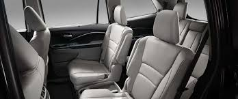 2017 honda pilot cargo capacity storage and seating configurations