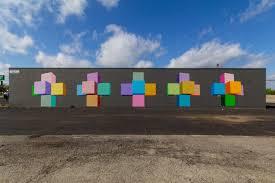 Deep Ellum Wall Murals by Hypercube Artgod New Mural In Lochwood Dallas