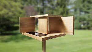 Outdoor Unique Bird Feeders Made Form Wood Also mercial