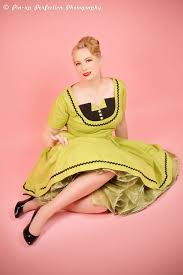 retro dress pinup dress tuxedo dress pin up dress