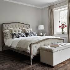 Chantal Bed Super King size Natural Linen