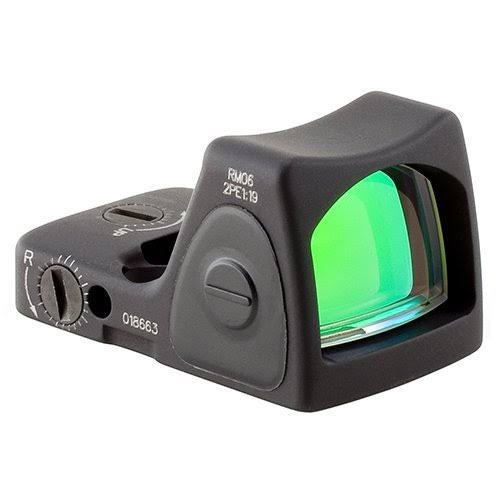 Trijicon RMR Type 2 Adjustable Led Sight Red Dot Reticle - Black, 3.25 Moa