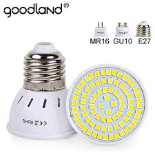goodland e27 led l 220v 240v mr16 gu10 led bulb led spotlight