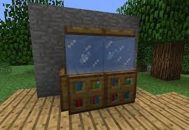 Here Is A Fish Tank With Real First I Placed On Top Of The Bookshelves And Then Ice Blocks Effect Cool One