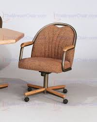 Chromcraft Chair Cushion Replacements by Core C188 Swivel Tilt Caster Arm Chair