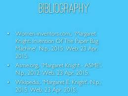 Margaret Knight By Gelbi