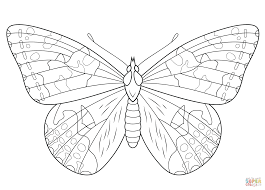 Click The Painted Lady Butterfly Coloring Pages To View Printable