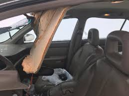 100 Stevens Truck Driving School 1 Injured After Ice Breaks From Truck Comes Through Cars Windshield