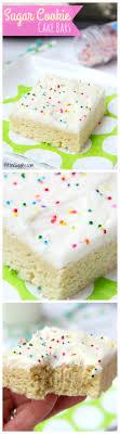 Sugar Cookie Cake Bars Bitz & Giggles