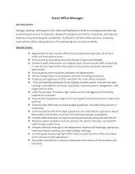 Front Office Job Resume by Formidable Hotel Security Job Resume With Static Security Officer
