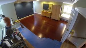 Recommended Underlayment For Bamboo Flooring by Installing Morning Star Click Bamboo Flooring Youtube
