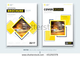 Brochure Design Corporate Business Template For Report Magazine Catalog Modern Layout With