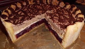 kirsch nutella torte