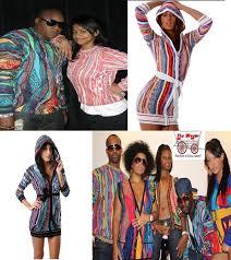 Black History Fashion Trend Coogi Sweaters
