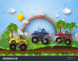 Monster Truck Racing Racetrackpaper Art Style Stock Vector (Royalty ... Rc Monster Truck Racing Alive And Well Truck Stop Mousepotato 120 Hummer Car Uvalde No Limits Monster Trucks With Bigfoot Bbow Pro Wrestling Race Stock Photos Images Bigfoot Truck Wikipedia Baltoro Games Wallpaper Wallpapers Browse Polisi Mobil Polisi Chase For Android Apk Rc Solid Axle Monster Racing In Terrel Texas Tech Forums Grave Digger 4x4 Race Monstertruck G Wallpaper 2018 Sport Modified Rules Class Information