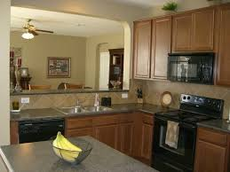Simple Effective Decorating Kitchen With Red Countertop Smith Design Regard To Accessories