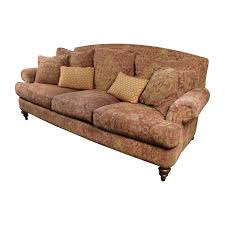 Ethan Allen Sofa Bed by 85 Off Ethan Allen Ethan Allen Paisley Sofa With Toss Pillows