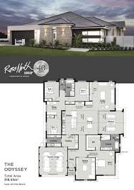 104 Contemporary Modern Floor Plans House Single Story House Single Story 2020 15 Examples In 2021 Beautiful House Single Storey House One Storey House