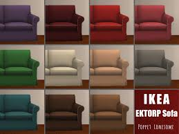 Ektorp Loveseat Sofa Sleeper From Ikea by Vimpse I Probably Should Have Included This The Sims 2