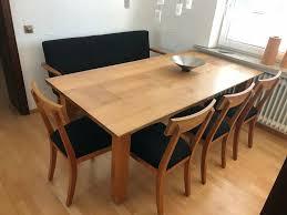 esszimmer essgruppe 4 stühle stuhl bank sitzbank tisch esstisch