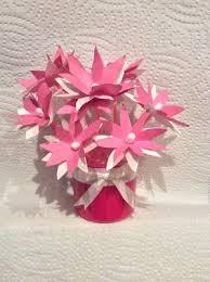 Mini Q Tip Flowers