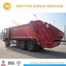 China Sinotruk HOWO Garbage Compress Truck Garbage Truck With 3 ...