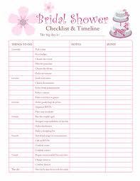 Bridal Shower Planning Checklist