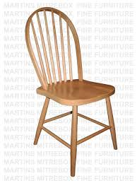 Handcrafted Mennonite Furniture Wood Solid Oak Side Dining Chairs ...