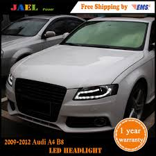 akd car styling for audi a4 b8 headlights 2009 2012 a4l led