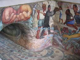 Jose Clemente Orozco Murales Con Significado by El Agua Origen De La Vida U201d Es El Título De Este Alucinante Mural