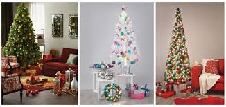 Or You Can Choose A White Christmas Tree Whether Look At Them As Retro Ultra Modern They Certainly Add Touch Of Winter Wonderland To Brighten Up