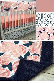 best 25 coral crib bedding ideas on pinterest baby bedding
