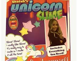 DIY SLIME KIT Sholahs Unicorn Slime