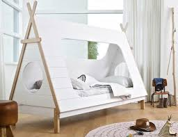 Woood s teepee tent bed offers a cozy way to bring your child s