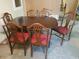 100 Duncan Phyfe Folding Chairs Drop Leaf Table Or Side Board Dining Table Antique