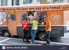 Lower Manhattan New York City NYC NY Love Street Coffee Food Truck ...