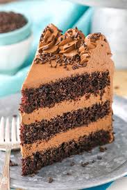 Chocolate Mousse Cake a moist chocolate cake with silky smooth chocolate mousse 652
