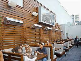 Lynx Eave Mounted Patio Heater by Lynx Patio Heater Outdoor Goods