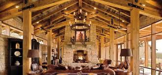 Log house wooden décor